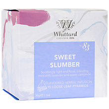 Buy Whittard Sweet Slumber Tea Bags, 30g Online at johnlewis.com
