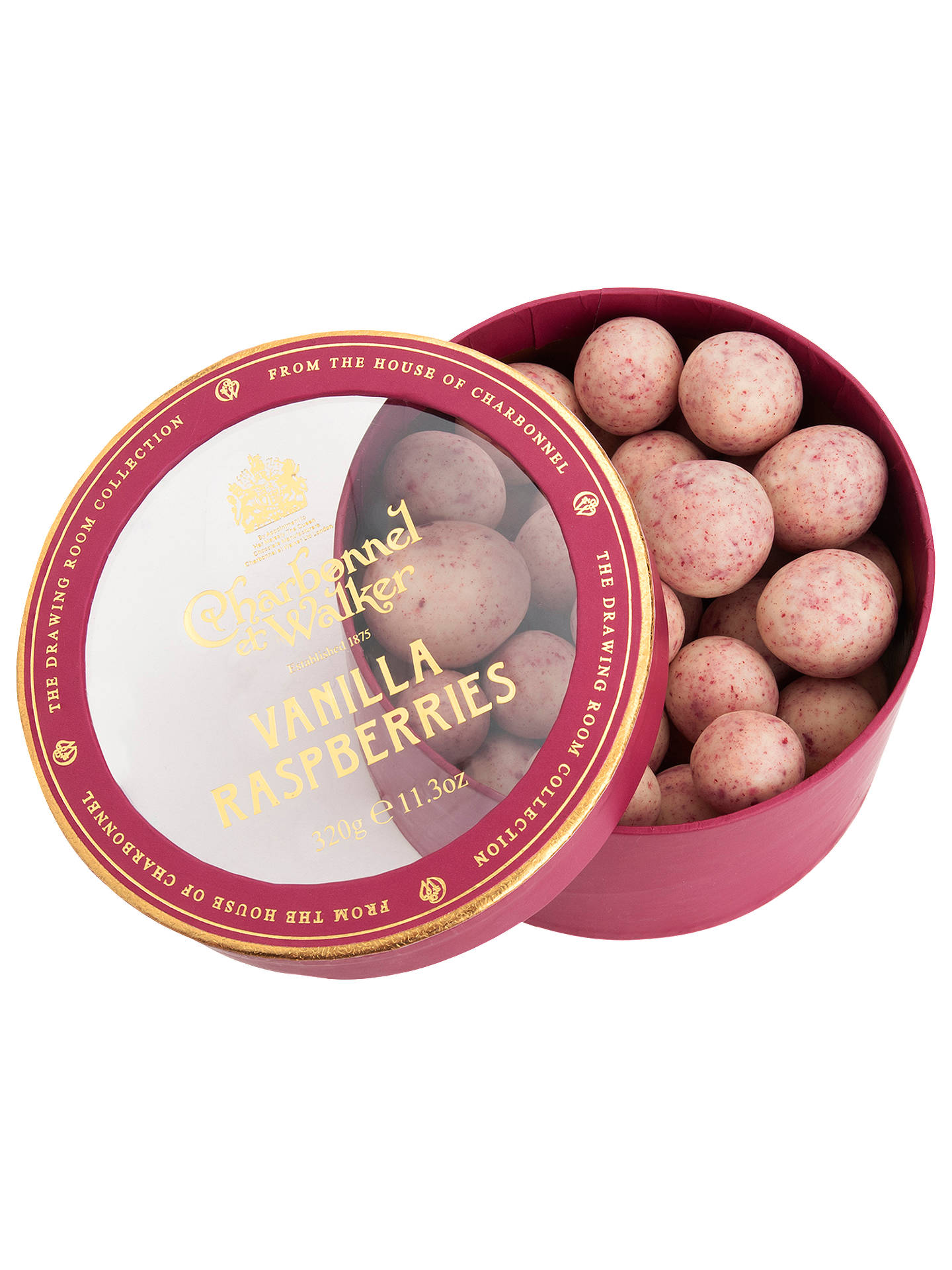 BuyCharbonnel et Walker Vanilla Raspberries, 320g Online at johnlewis.com