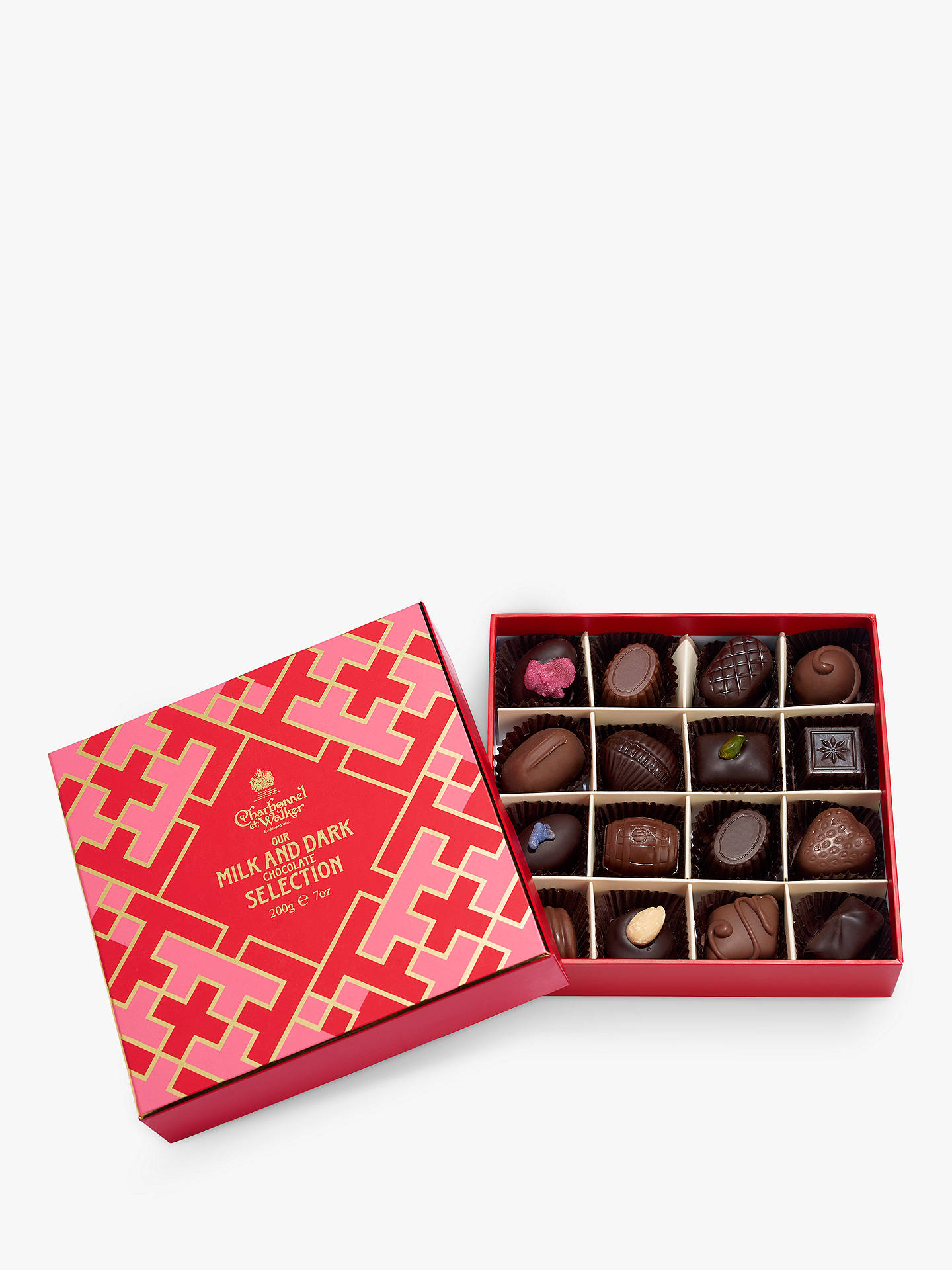 BuyCharbonnel et Walker Lattice Milk and Dark Chocolate Selection, 200g Online at johnlewis.com