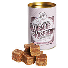 Buy Mr Stanley's Champagne & Raspberry Fudge, 150g Online at johnlewis.com