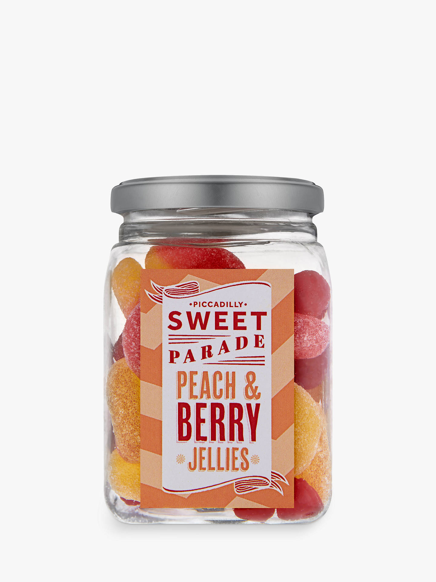 Buy Piccadilly Sweet Parade Peach & Berry Jellies Jar, 230g Online at johnlewis.com