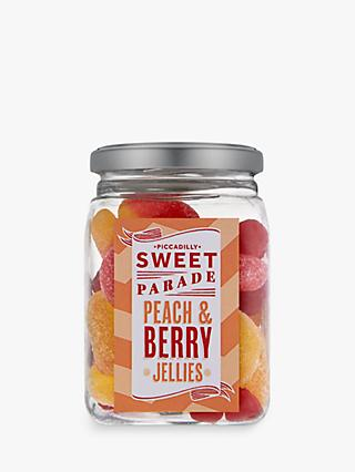 Piccadilly Sweet Parade Peach & Berry Jellies Jar, 230g
