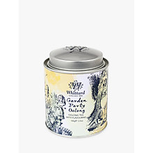 Buy Whittard Alice Garden Party Oolong Tea Caddy, 100g Online at johnlewis.com