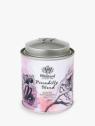 Whittard Alice Piccadilly Blend Tea Caddy, 100g
