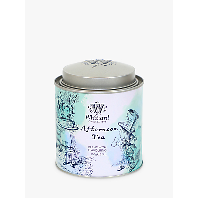 Image of Whittard Alice Afternoon Tea Caddy, 100g