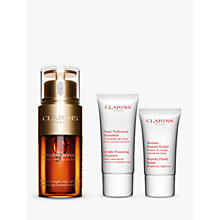 Buy Clarins Youthfully Radiant Double Serum Gift Set Online at johnlewis.com
