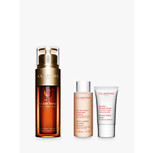 Buy Clarins Radiant and Rested Double Serum Gift Set Online at johnlewis.com