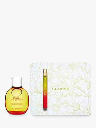 Clarins Eau Des Jardins Treatment Fragrance Gift Set