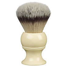 Buy Kent Infinity+ Silvertex Large Synthetic Shaving Brush Online at johnlewis.com