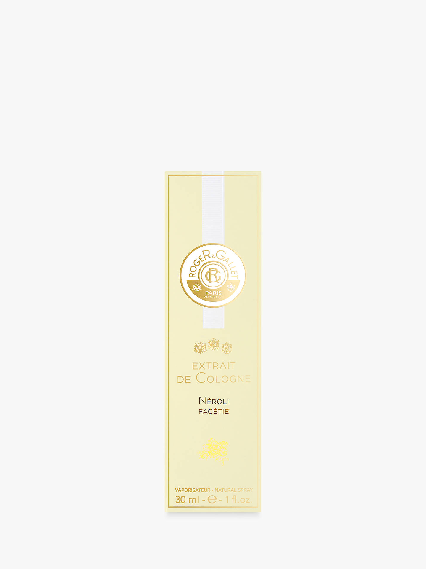 BuyRoger & Gallet Neroli Facetie Extract de Cologne, 30ml Online at johnlewis.com