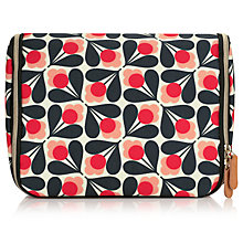 Buy Orla Kiely Fuschia Sycamore Seed Hanging Wash Bag, Pink Online at johnlewis.com