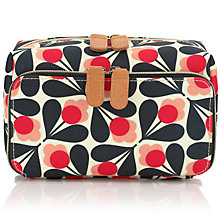 Buy Orla Kiely Fuschia Sycamore Seed Medium Wash Bag, Pink Online at johnlewis.com