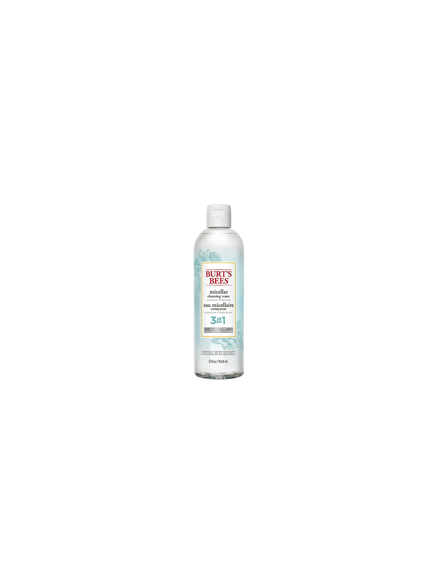 BuyBurt's Bees Micellar Cleansing Water, 354.8ml Online at johnlewis.com