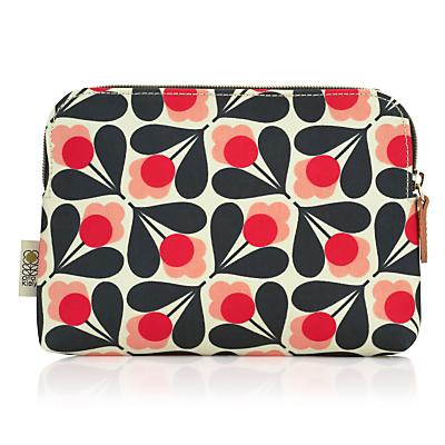 Orla Kiely Fuschia Sycamore Seed Cosmetic Bag, Pink