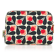Buy Orla Kiely Fuschia Sycamore Seed Cosmetic Bag, Pink Online at johnlewis.com