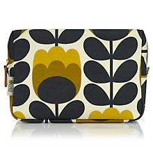 Buy Orla Kiely Dandelion Tulip Large Cosmetic Bag, Yellow Online at johnlewis.com
