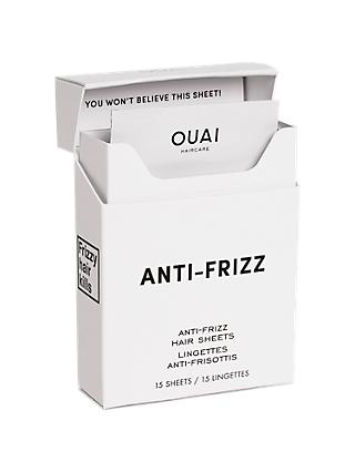 OUAI Anti-Frizz Hair Sheets, x 15