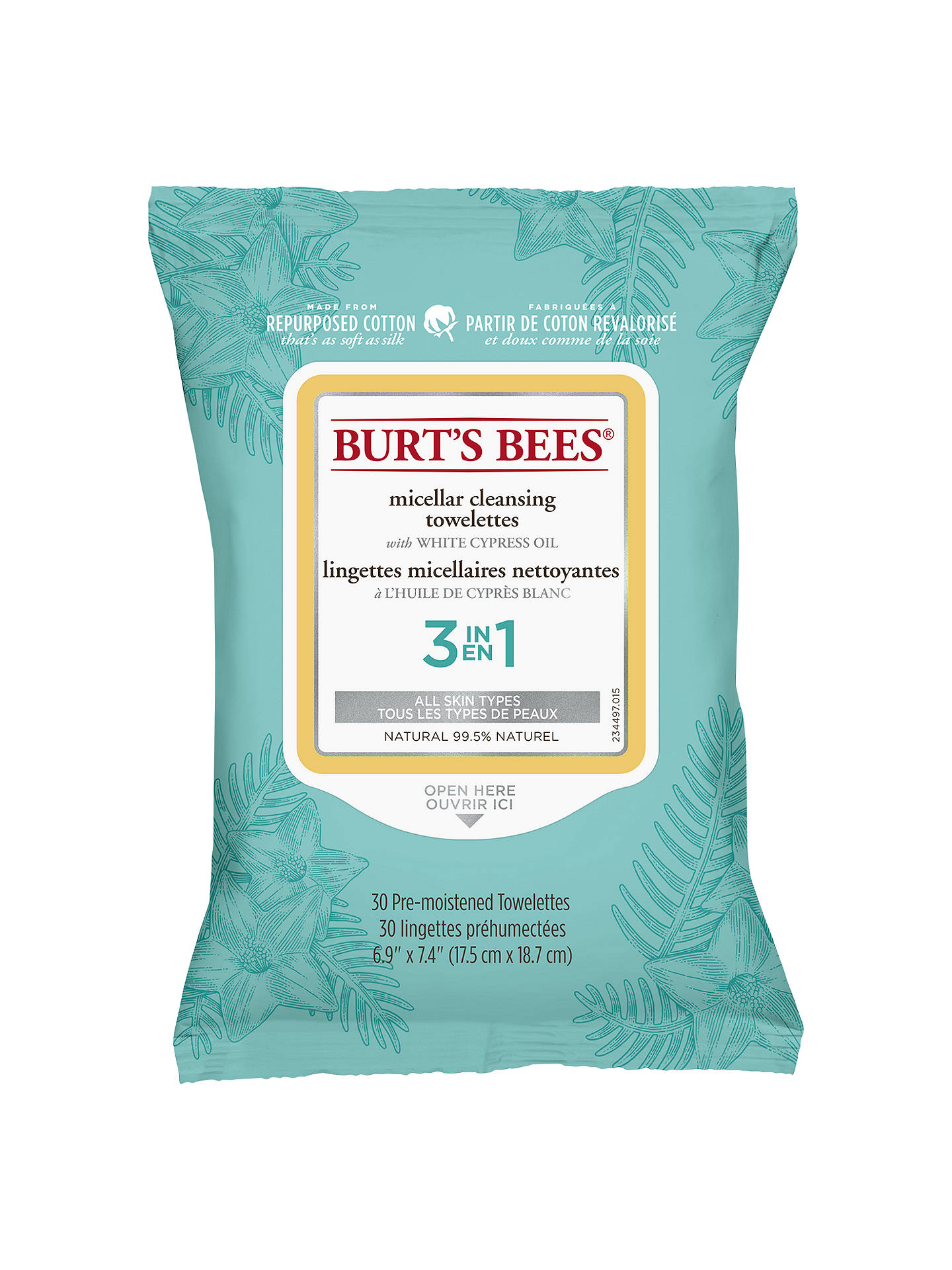 Micellar Cleansing Towelettes by Burt's Bees #15