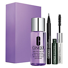Buy Clinique Eyes On The Go Makeup Set Online at johnlewis.com