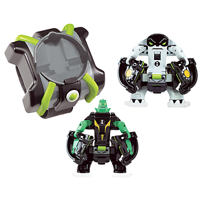 Image of Ben 10 Omni Launch Battle Figures: Diamondhead and Cannonbolt