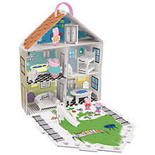 Buy Peppa Pig Decorate Peppa's House Arts & Craft Set Online at johnlewis.com