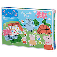 Buy Peppa Pig Fantastic Felt Art Board Online at johnlewis.com