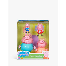 Buy Peppa Pig Family Pack Online at johnlewis.com