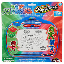 Buy PJ Masks Magna Doodle Magnetic Drawing Toy Travel Set Online at johnlewis.com