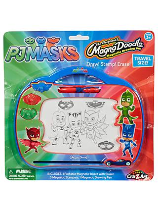 PJ Masks Magna Doodle Magnetic Drawing Toy Travel Set
