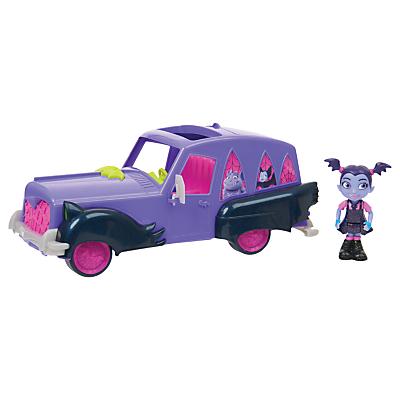 Disney Vampirina Hauntley's Mobile Car Set