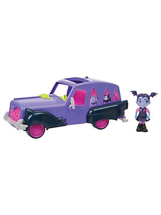 Disney Vampirina Hauntley's Mobile Car Set