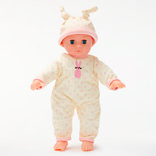 Buy John Lewis My First Baby Doll, Pink Online at johnlewis.com