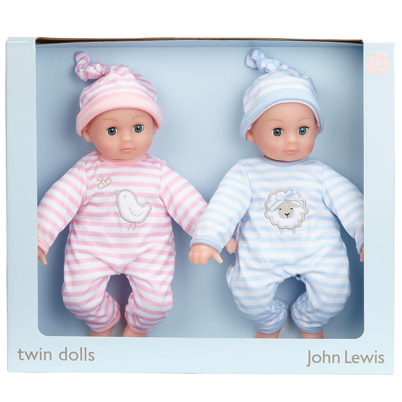John Lewis Baby Twin Dolls at John Lewis