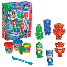 Buy PJ Masks Mould N Play 3D Figure Maker Kit Online at johnlewis.com