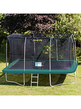 JumpKing 11.5ft x 16ft Rectangle Trampoline
