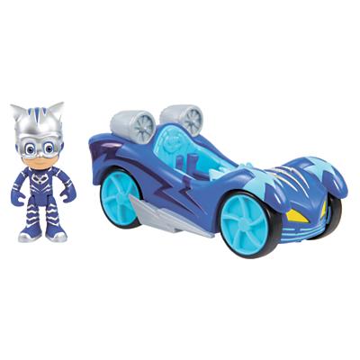 Image of PJ Mask Turbo Blast Racers Cat-Car & Cat Boy