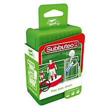 Buy Subbuteo Shuffle Card Game Online at johnlewis.com