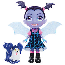 Buy Disney Vampirina Bat-Tastic Talking Vee and Wolfie Doll Online at johnlewis.com