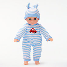 Buy John Lewis My First Baby Doll, Blue Online at johnlewis.com