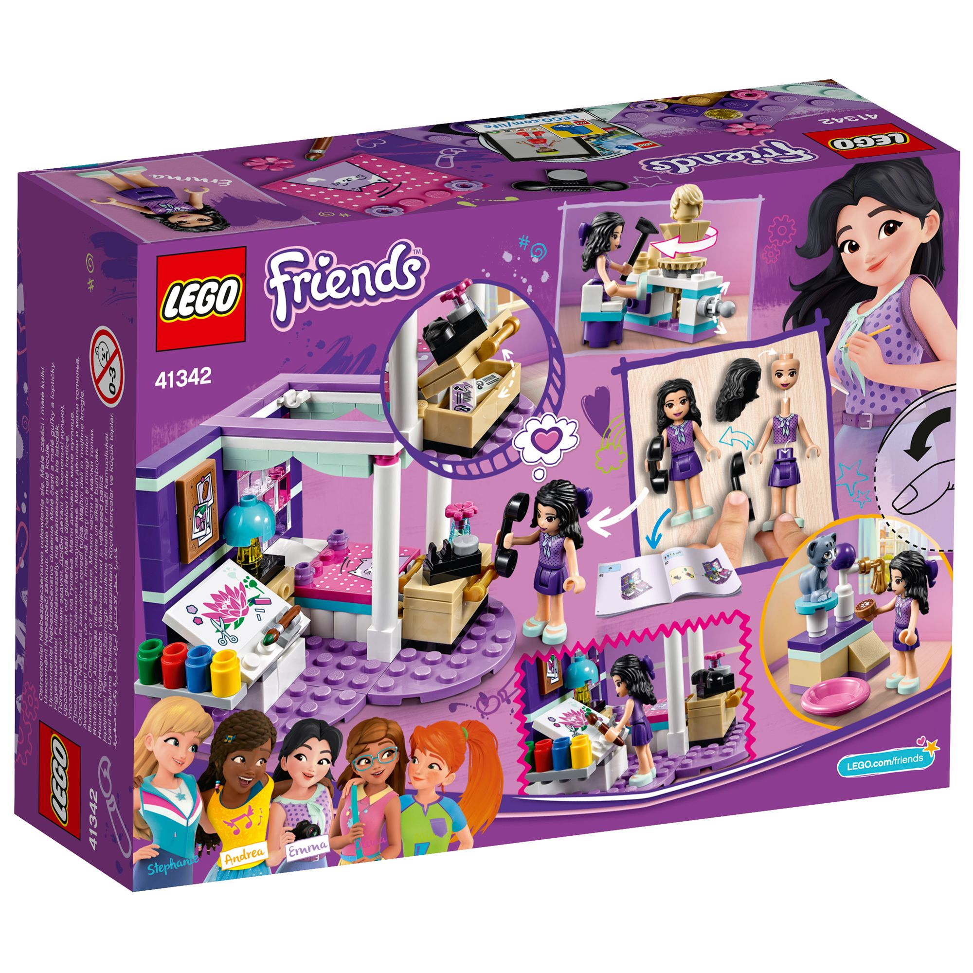 Lego Friends Christmas Sets.Lego Friends 41342 Emma S Deluxe Bedroom