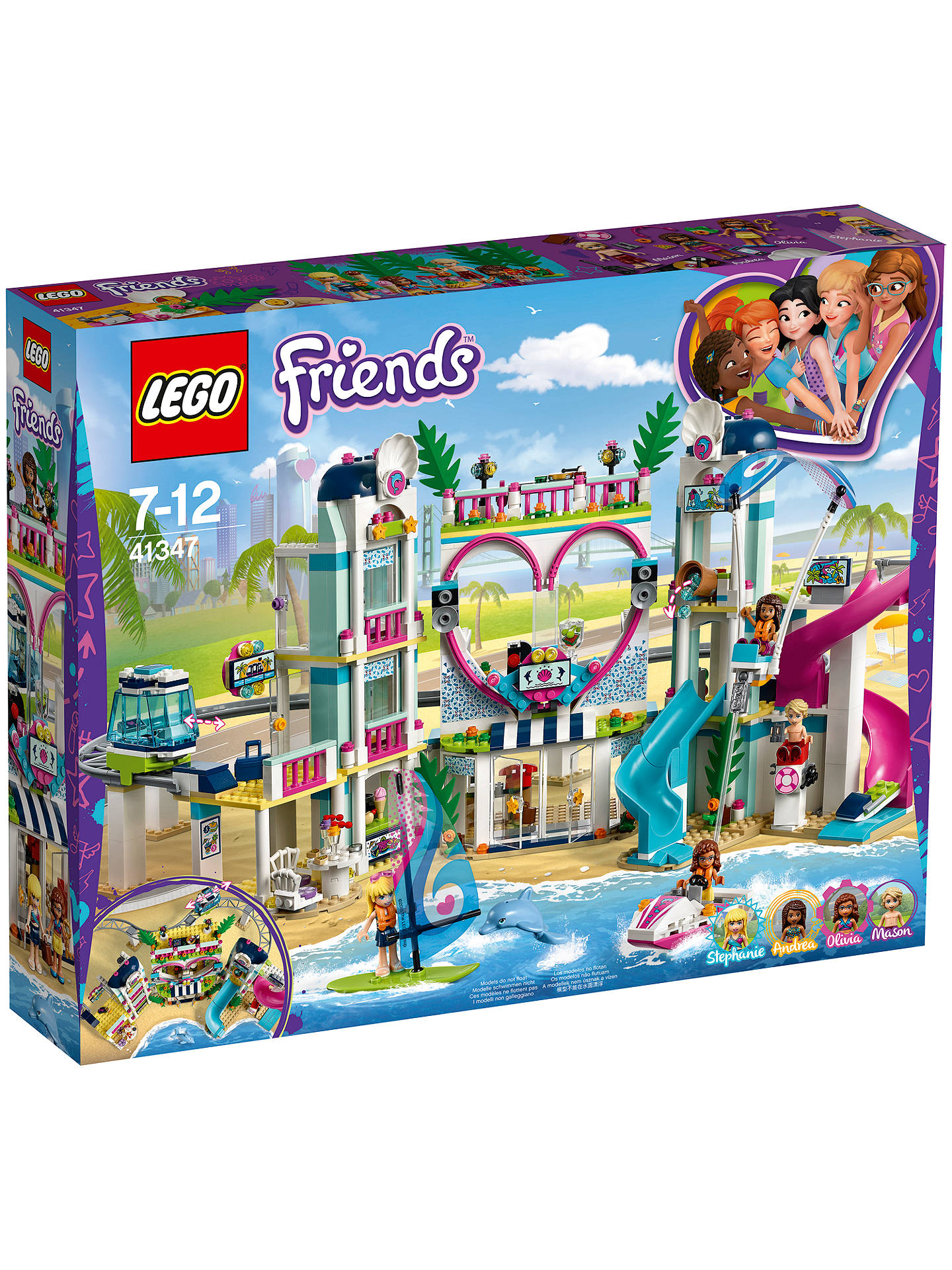 Lego Friends 41347 Heartlake City Resort At John Lewis Partners