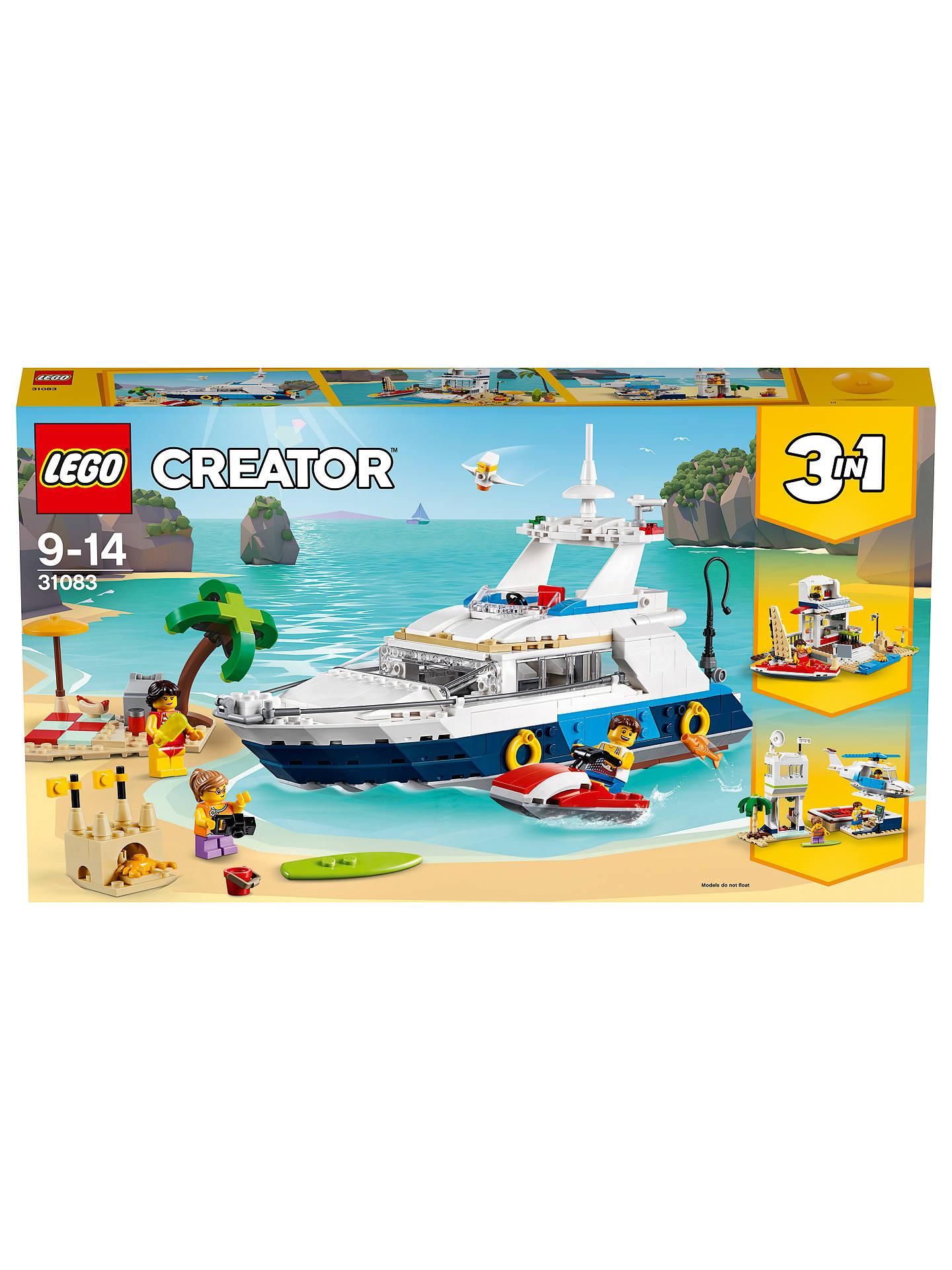 LEGO Creator 31083 3-in-1 Cruising Adventures