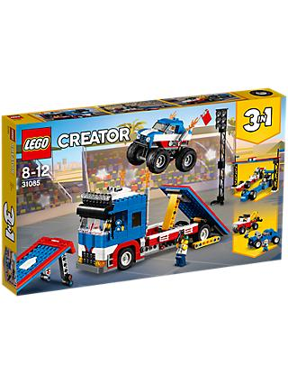LEGO Creator 31085 3-in-1 Mobile Stunt Show