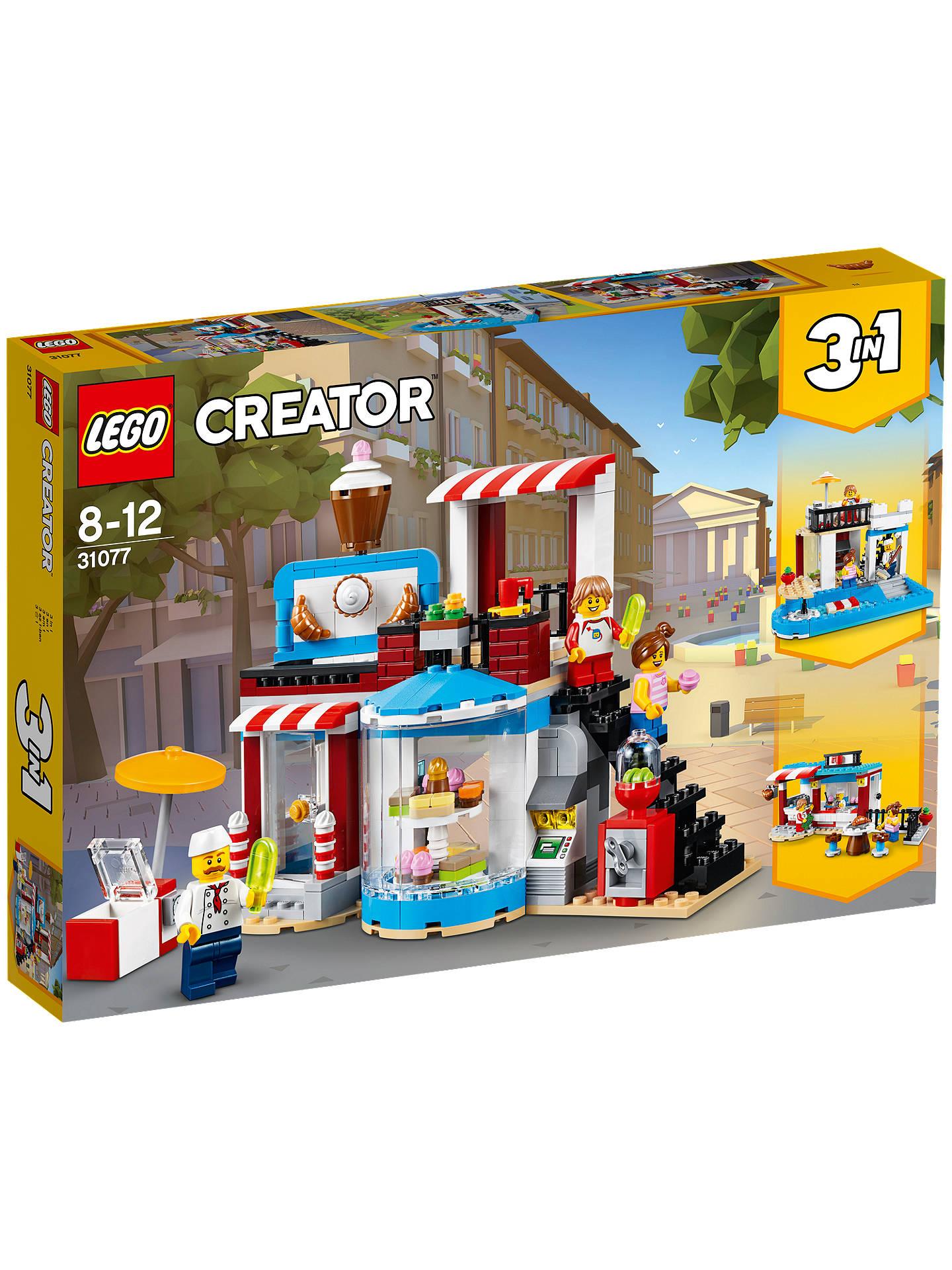d3eaa7f504d Buy LEGO Creator 31077 3-in-1 Modul Sweet Surprises Online at johnlewis.