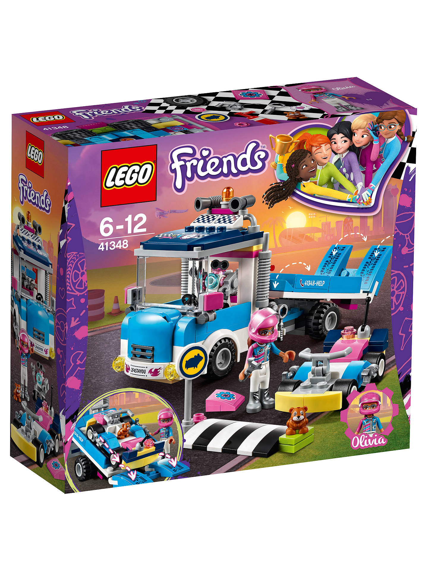 Lego Friends 41348 Service Care Truck At John Lewis Partners
