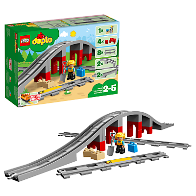 LEGO DUPLO 10872 Train Bridge & Tracks