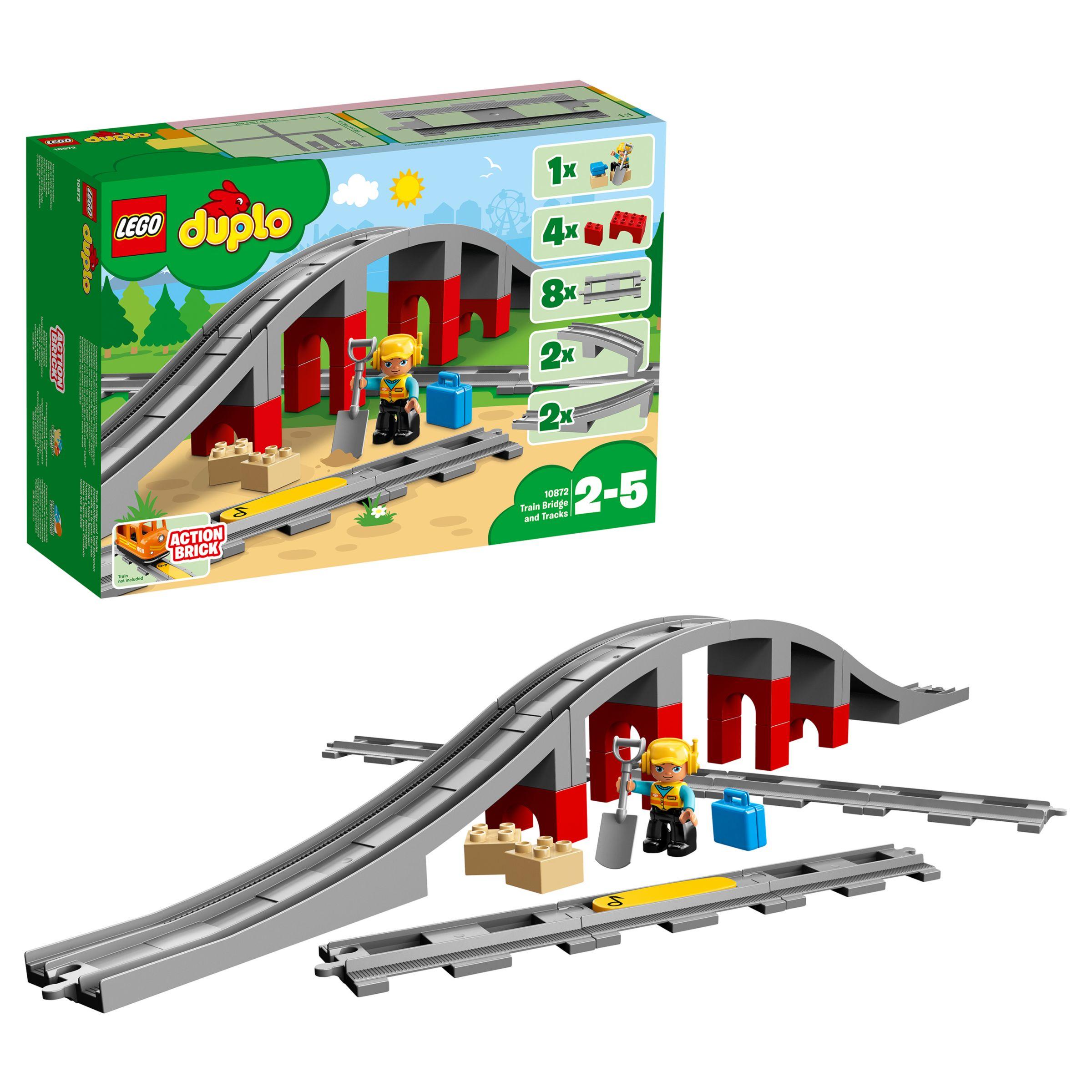 Lego LEGO DUPLO 10872 Train Bridge & Tracks