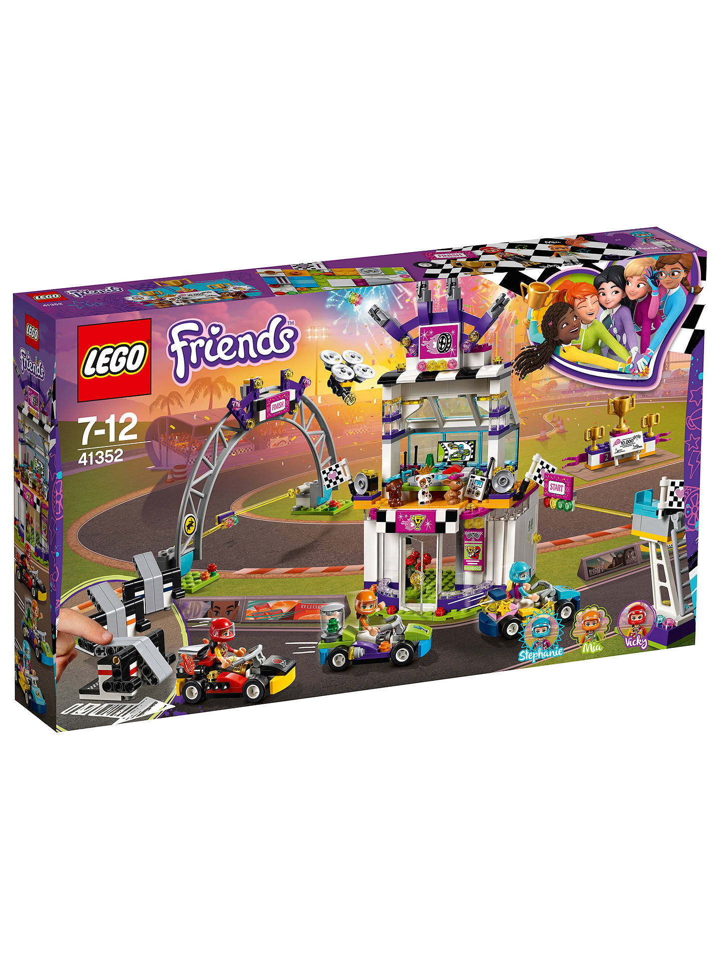 Flot LEGO Friends 41352 The Big Race Day at John Lewis & Partners VF-05