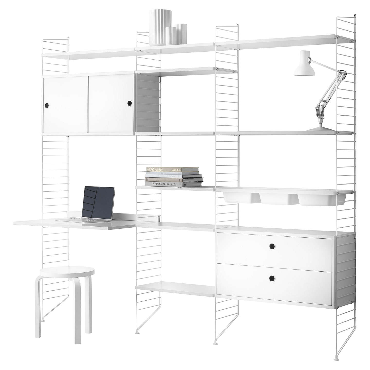 shelf white baskets ikea shelving or kallax bookcase home co amazon uk boxes kitchen unit perfect dp for