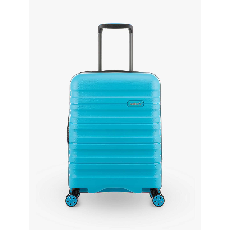 Antler Juno 2 4 Wheel 55cm Cabin Suitcase Turquoise Online At Johnlewis